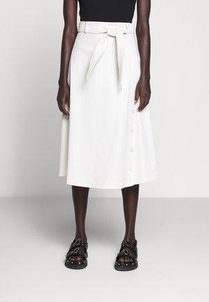 GINGER - A-line skirt - ecru