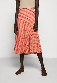 Sportmax Code - ROMANA - A-line skirt - puder - 0