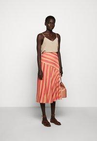 Sportmax Code - ROMANA - A-line skirt - puder - 1