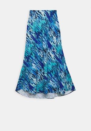 TEORIA - A-line skirt - blau