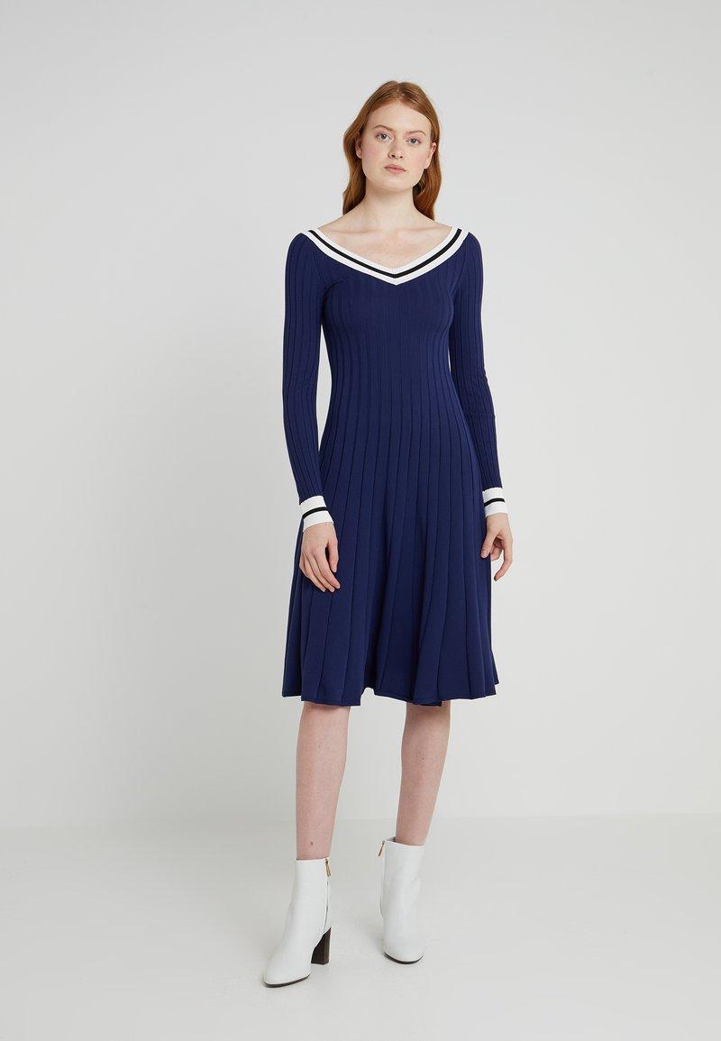 Sportmax Code - AEROSO - Jumper dress - ultramarine