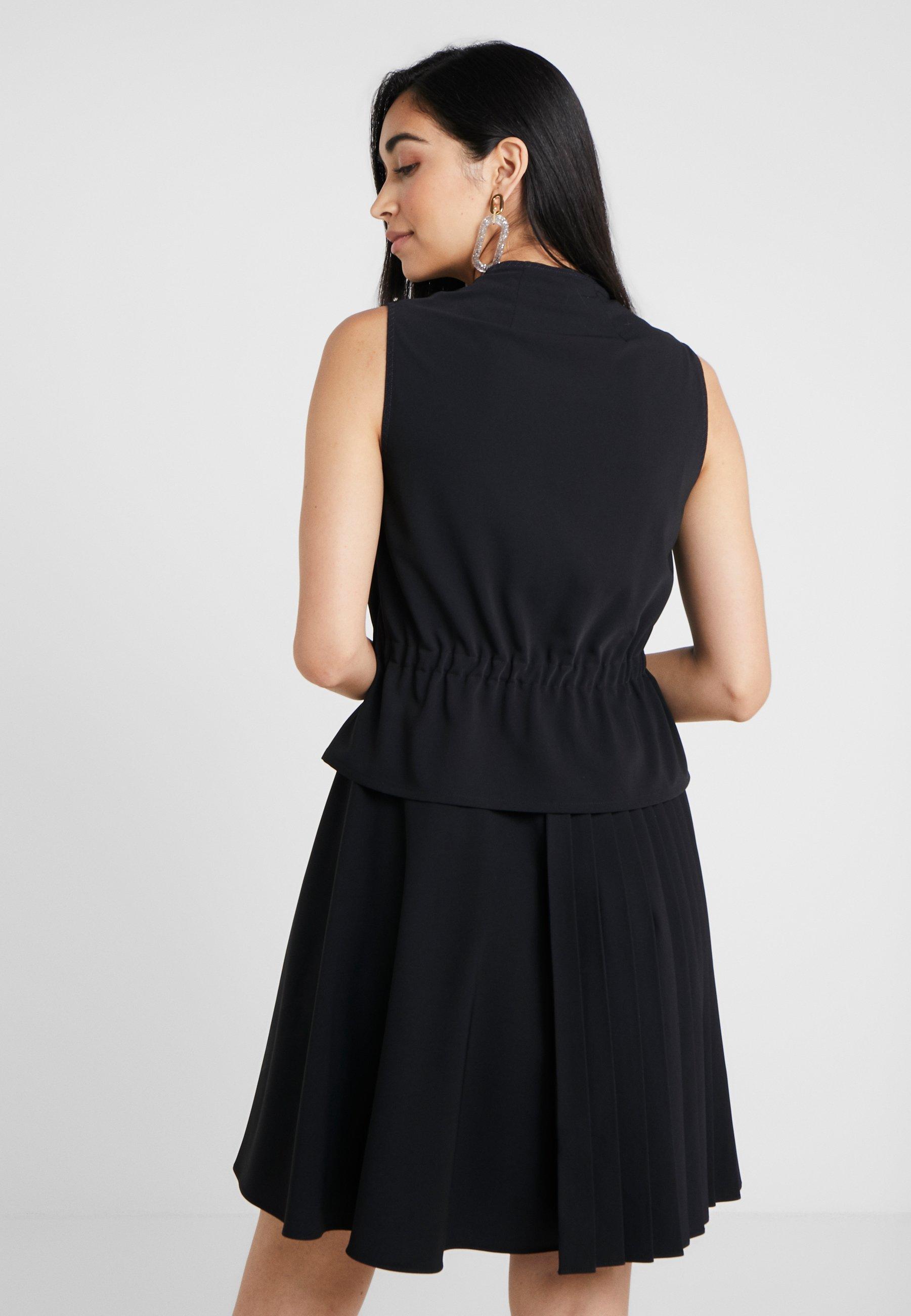 Sportmax Code Robe d'été - noir schwarz