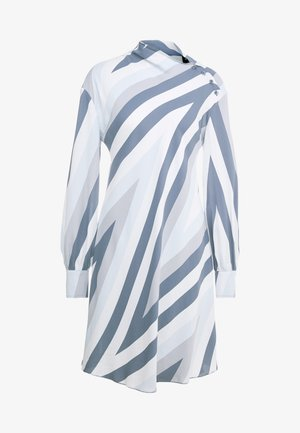 MANETTA - Korte jurk - mittelgrau