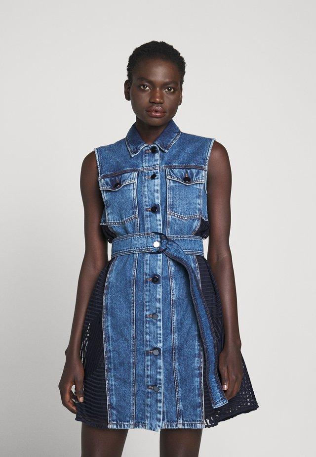 OZIERI - Sukienka jeansowa - nachtblau
