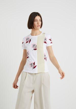 MOENA - T-shirt print - weiss