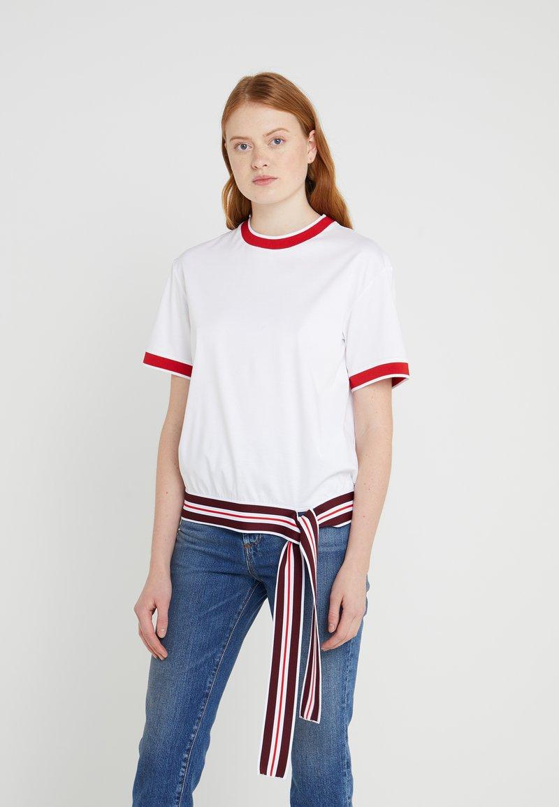 Sportmax Code - OBLARE - T-Shirt print - weiss