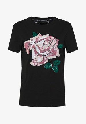 JESONE - Print T-shirt - schwarz