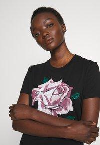 Sportmax Code - JESONE - Print T-shirt - schwarz - 3