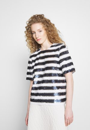 CLIPPER - Print T-shirt - ultramarine