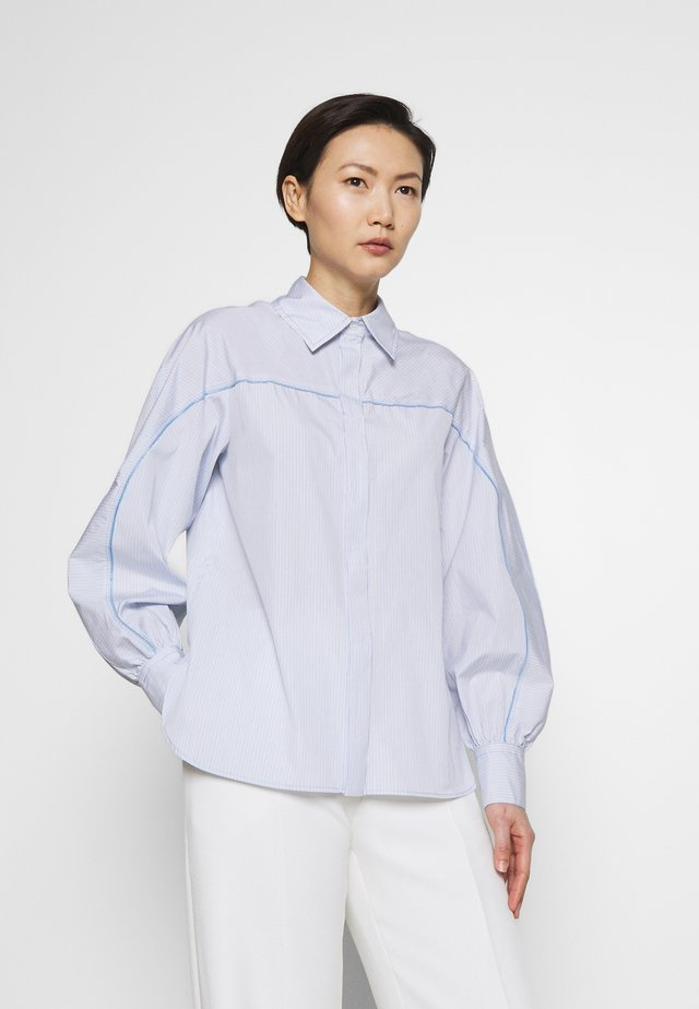 CIPRO - Bluse - light blue/white