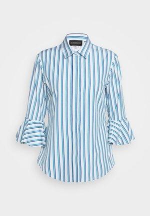 Skjorte - azurblau