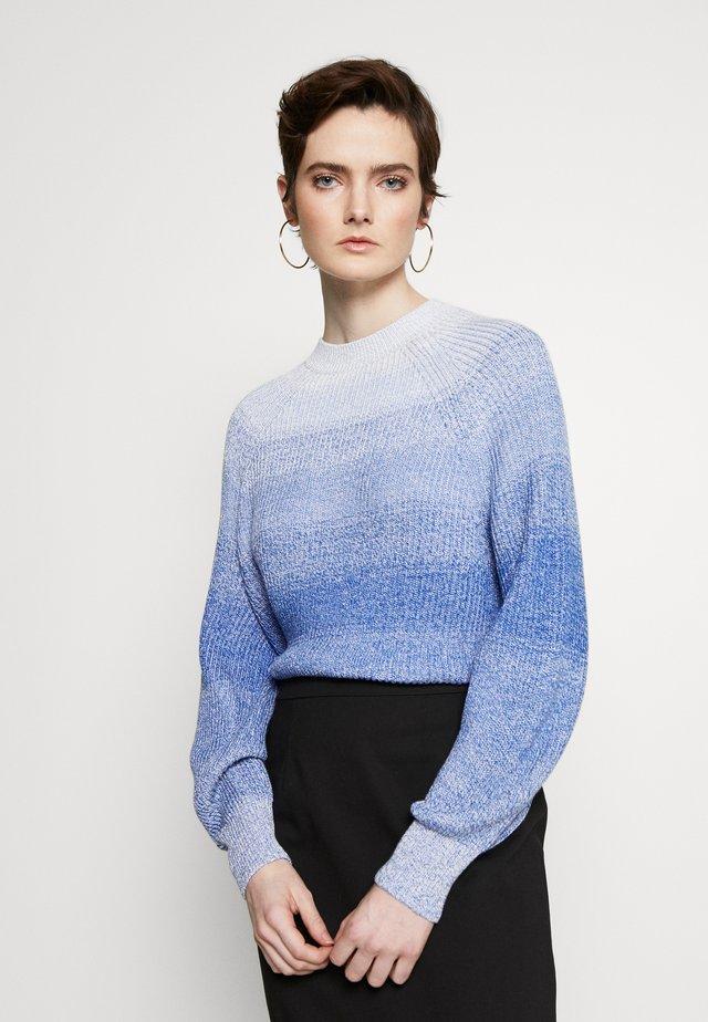 OCARINA - Stickad tröja - azurblau