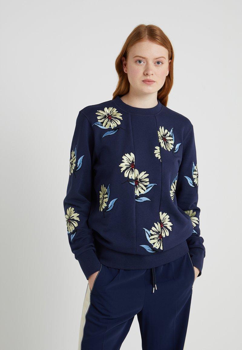 Sportmax Code - BAGDAD - Sweatshirt - blau