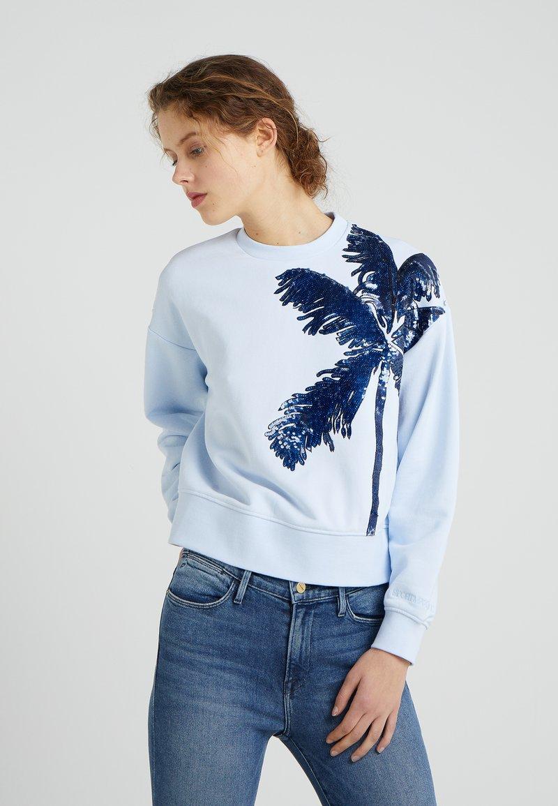 Sportmax Code - LINCE - Sweatshirt - azurblau