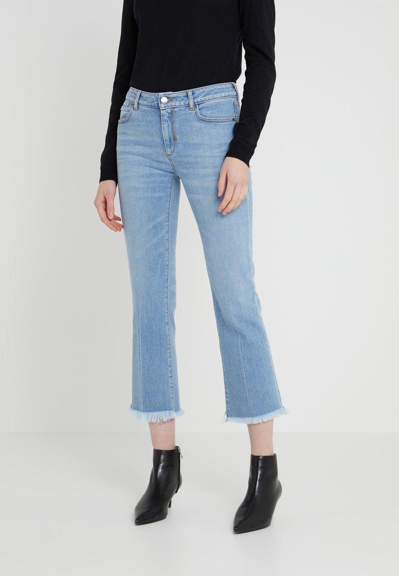 Sportmax Code - RONCHI - Flared Jeans - nachtblau