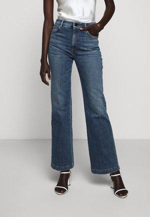 GOYA - Flared Jeans - nachtblau