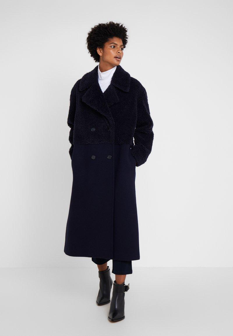 Sportmax Code - CABRAS - Wollmantel/klassischer Mantel - blau