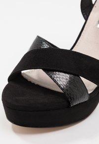 XTI - Sandaler med høye hæler - black - 2