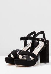XTI - Sandaler med høye hæler - black - 4