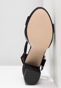 XTI - Sandaler med høye hæler - black - 6