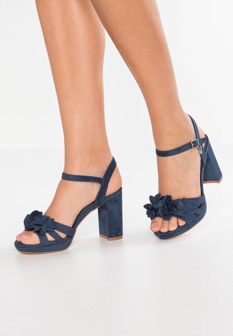 XTI - High Heel Sandalette - navy