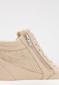 XTI - Vysoké tenisky - beige - 2