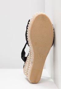 XTI - Sandály na vysokém podpatku - black - 6