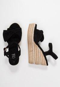 XTI - Sandály na vysokém podpatku - black - 3
