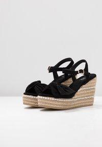XTI - Sandály na vysokém podpatku - black - 4