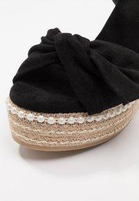 XTI - Sandály na vysokém podpatku - black - 2