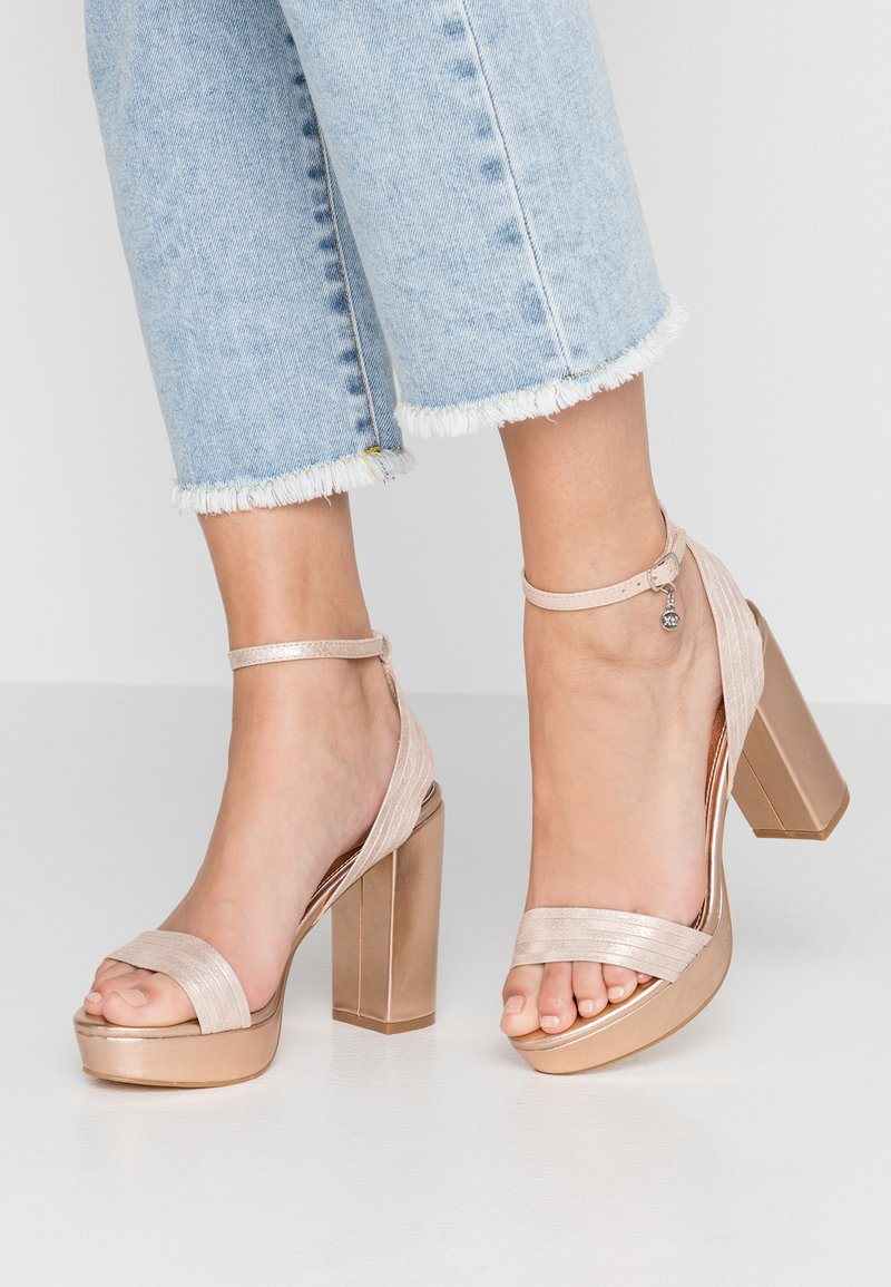 XTI - High heeled sandals - nude