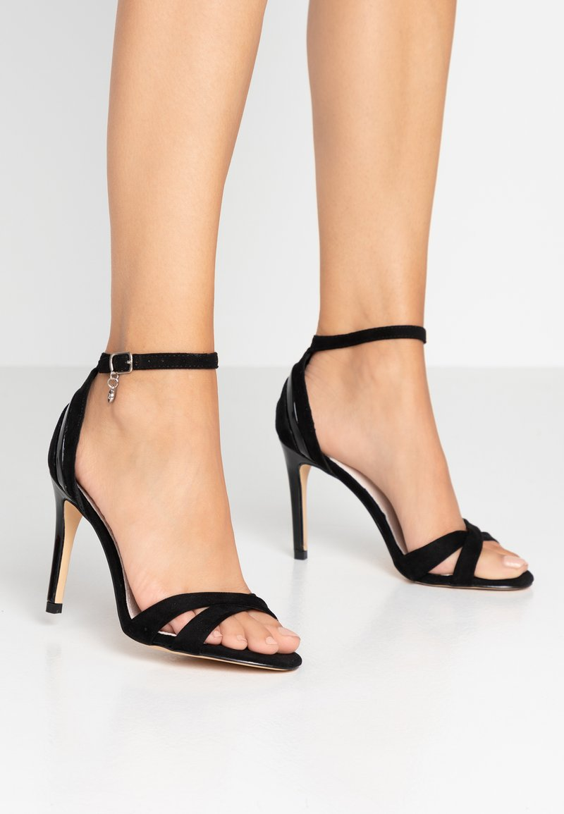 XTI - High heeled sandals - black