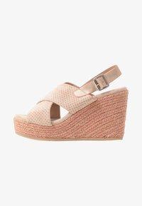 XTI - Korolliset sandaalit - nude - 1