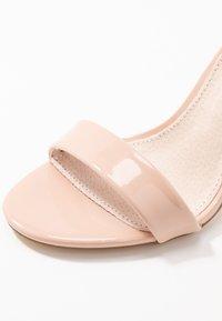 XTI - Sandaler med høye hæler - nude - 2