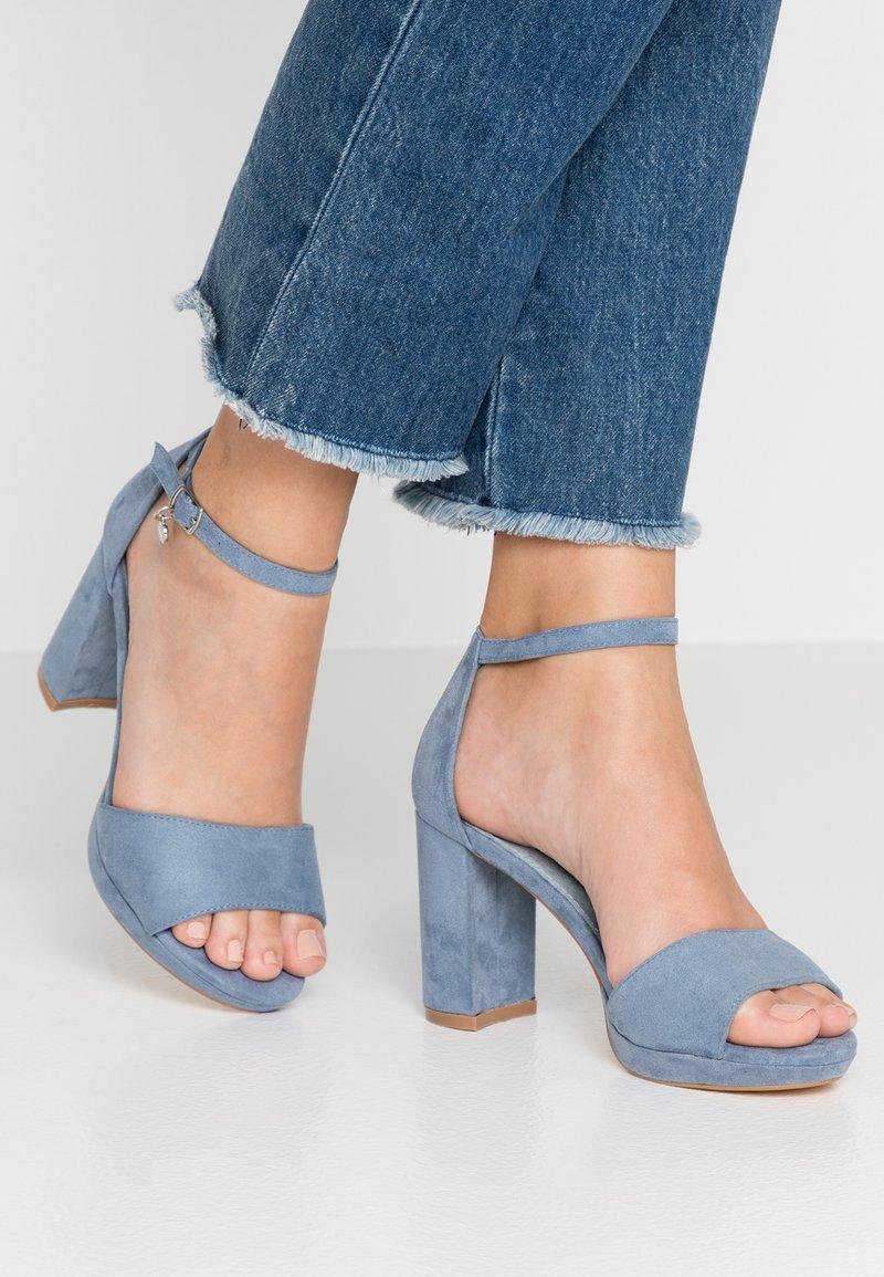XTI - Sandalias de tacón - jeans