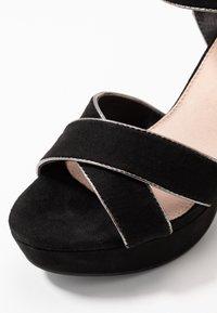 XTI - Sandalen met hoge hak - black - 2