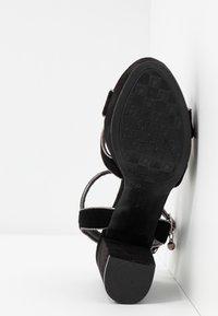 XTI - Sandalen met hoge hak - black - 6