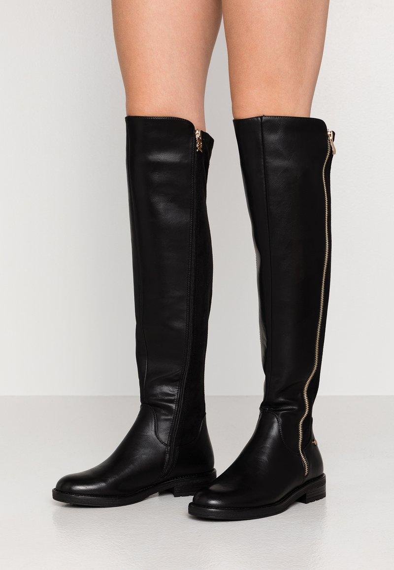 XTI - Høye støvler - black