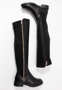 XTI - Høye støvler - black - 3