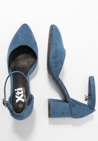 XTI - Czółenka - jeans - 3