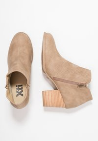 XTI - Ankelboots - taupe - 3