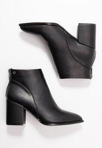 XTI - Kotníková obuv - black - 3