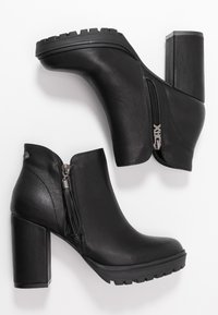 XTI - High Heel Stiefelette - black - 3