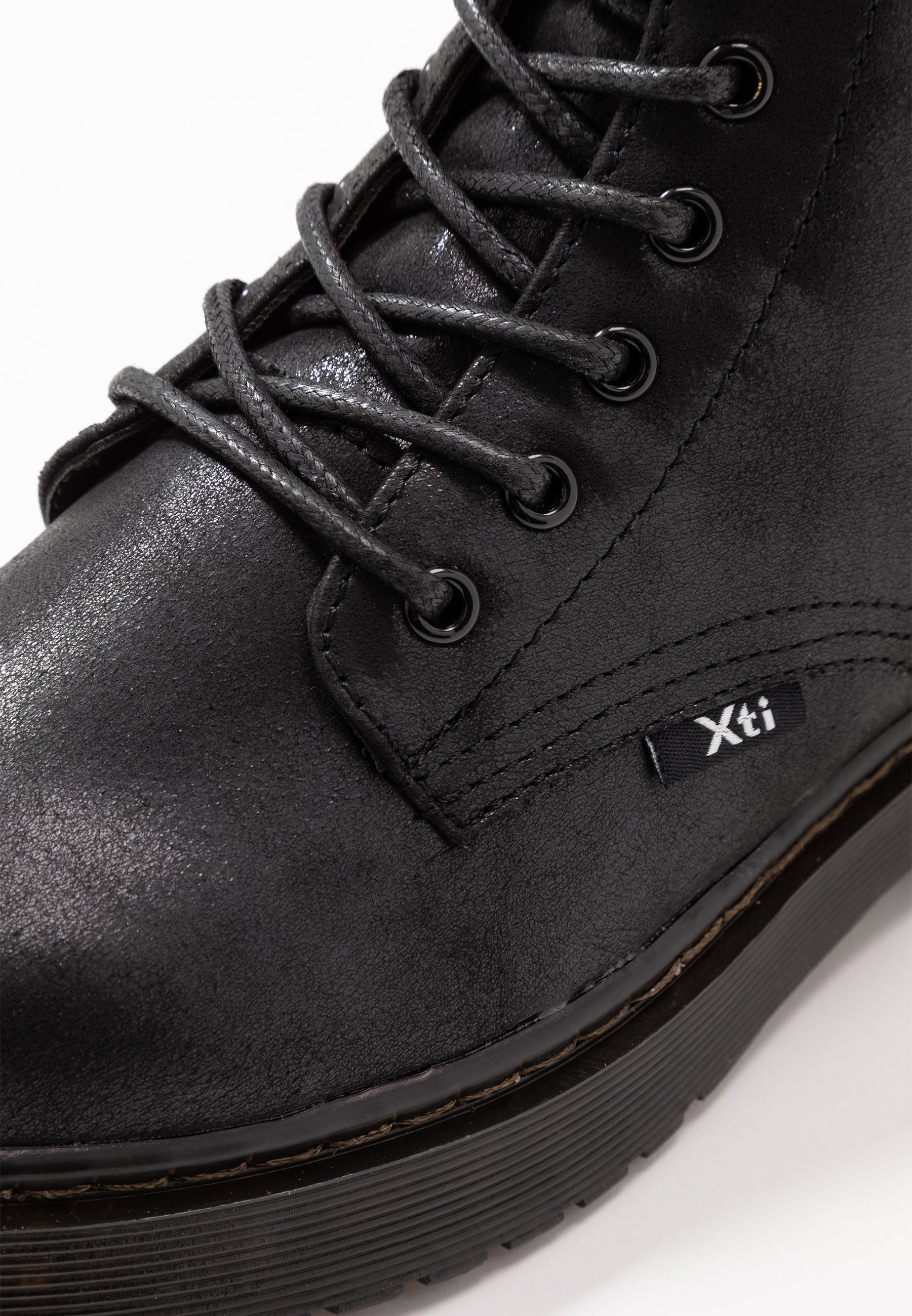 XTI Botki na platformie - black