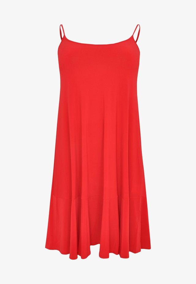 SLEEVELESS - Korte jurk - red