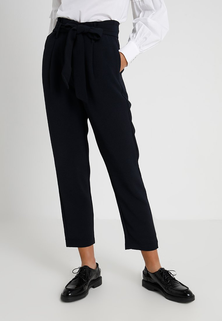 YAS - YASBOO PANT - Trousers - dark sapphire