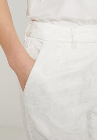 YAS - BRIDAL YASBEO PANT NEW - Trousers - star white - 3