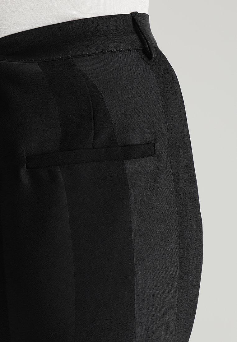 YAS YASMARDY WIDE PANT Pantalon classique black ZALANDO.FR