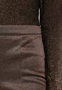 YAS - YASLEA FLARED PANT - Bukse - copper colour - 4