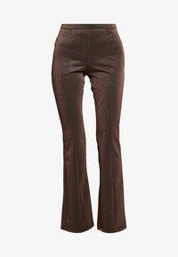 YAS - YASLEA FLARED PANT - Bukse - copper colour - 3